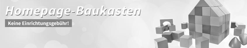 Homepage-Baukasten, Keine Einrichtungsgebühr