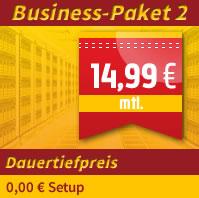 Webhosting zum Dauertiefpreis