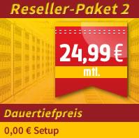 Webhosting Reseller zum Dauertiefpreis