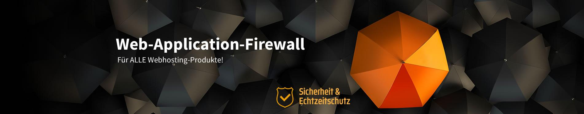 Web-Application-Firewall für ALLE Hosting-Produkte bei Webspace-Verkauf.de
